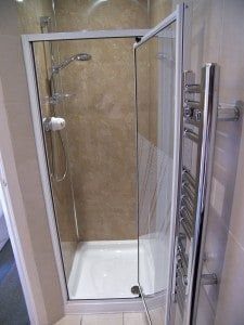 Regular double shower at Rosemount Hotel Pitlochry