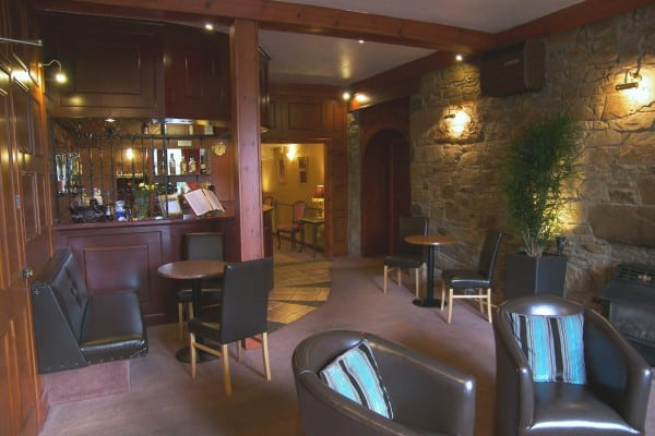 Rosemount Hotel Pitlochry Bar.Dogs most welcome