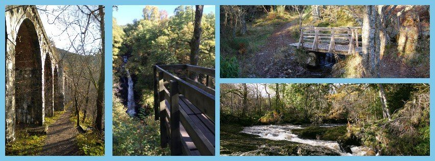 Black SPout and Killiecrankie walking holiday Pitlochry