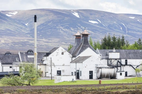 Dalwhinnie Distillery, near Pitlochry