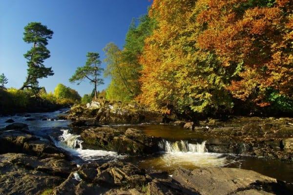 Falls of Dochart, near Pitlochry