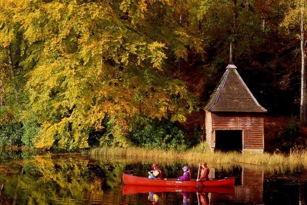 Autumn Breaks Pitlochry : Loch Dunmore