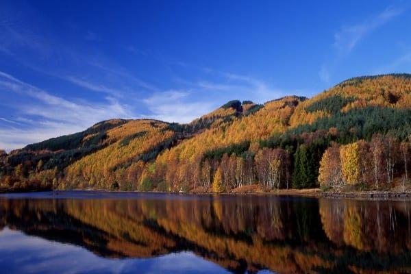 Autmn Breaks Pitlochry : Clunie Dam