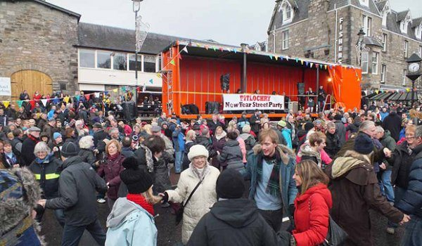 Pitlochry Hogmanay Street Party and Ceilidh