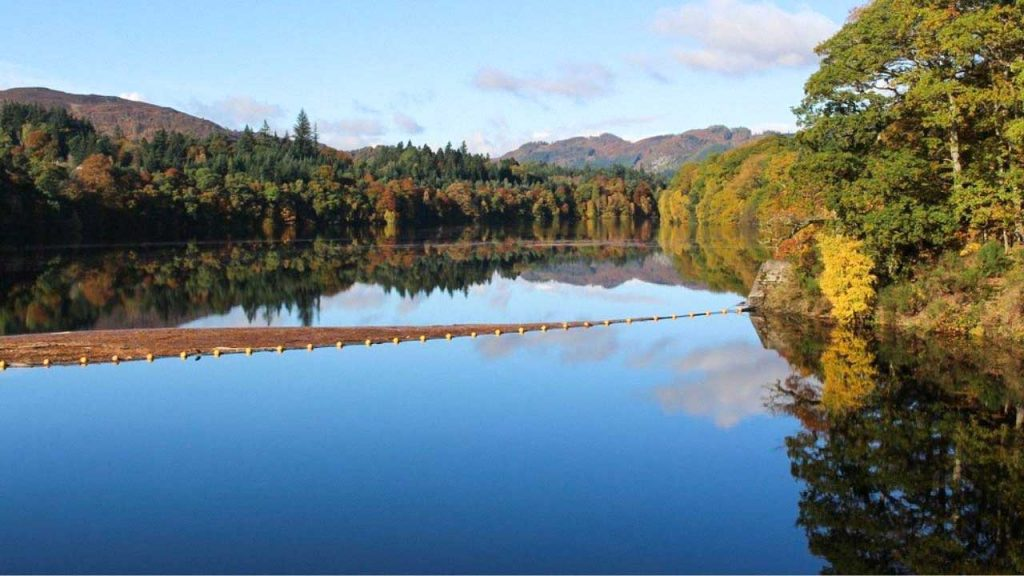 Loch Faskally, viewed from Pitlochry Dam