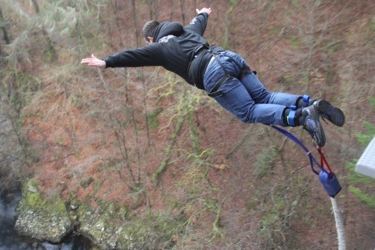 active breaks pitlochry bungee