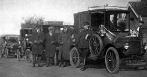 Old Photograph Chauffeurs Pitlochry Scotland