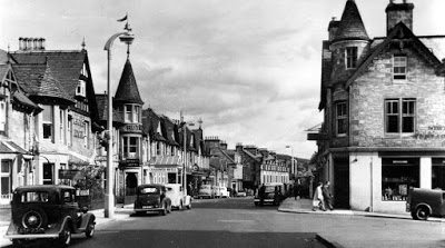 Old Photographs Old Main Street Pitlochry Highland Perthshire Scotland