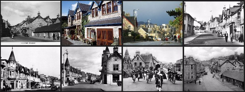 Rosemount Hotel in Pitlochry area. Pitlochry through the ages