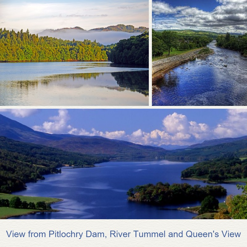 Scotland Holiday Pitlochry scenery