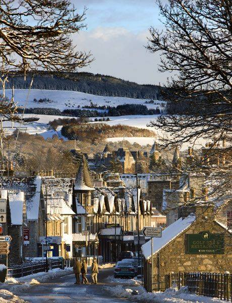 scottish breaks in Pitlochry