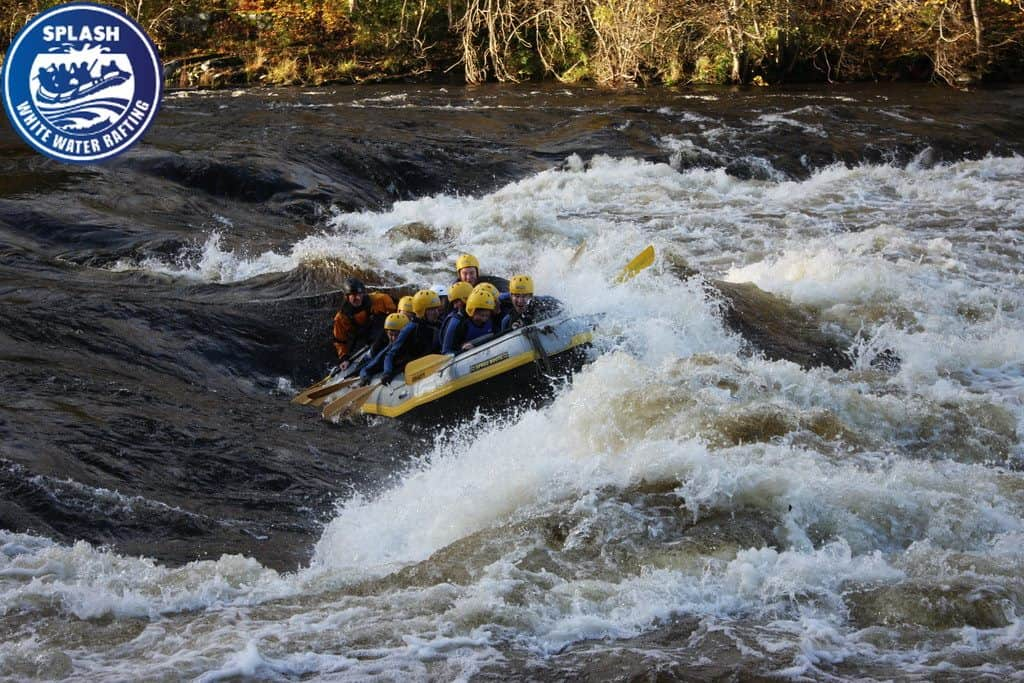 white water rafting Pitlochry
