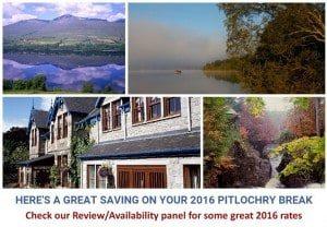 Pitlochry Hotel deals