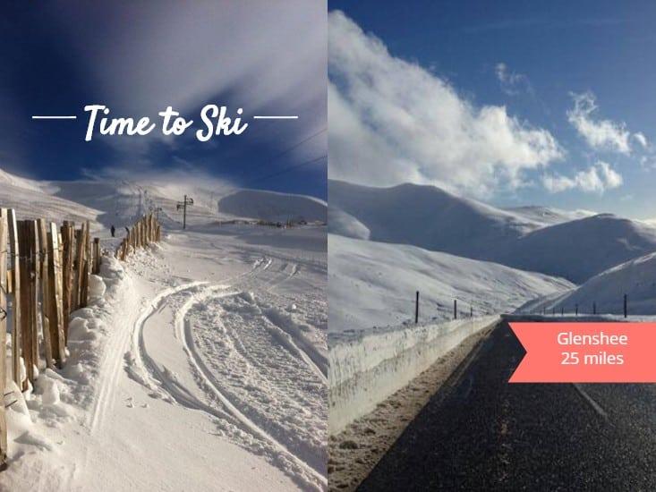 ski holidays glenshee scotland