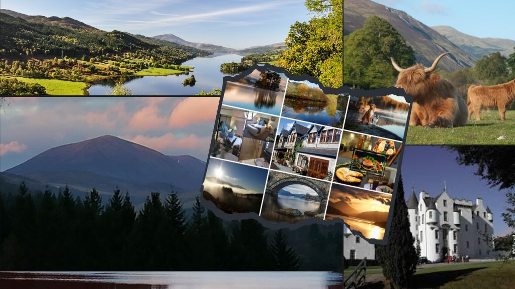 Cheap Pitlochry breaks. Rosemount Hotel Pitlochry is small hotel surrounded by vast expases of fabulous scenery
