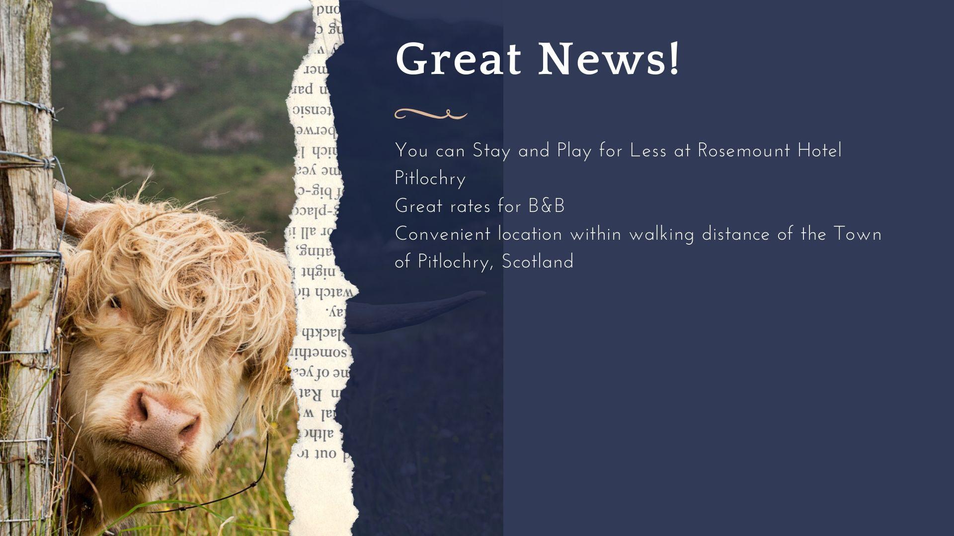 Pitlochry Easy Breaks