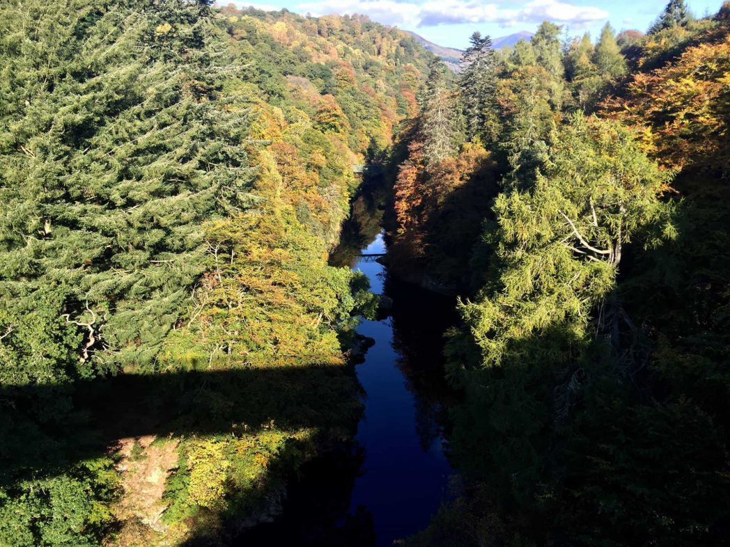 Scotland Holldays. Visit the pass of Killiecrankie from Rosemount Hotel