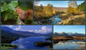 short breaks in Pitlochry Perthshire
