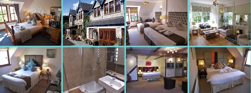 Hotels in Pitlochry town