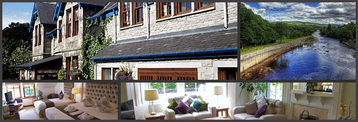 accommodation pitlochry scotland