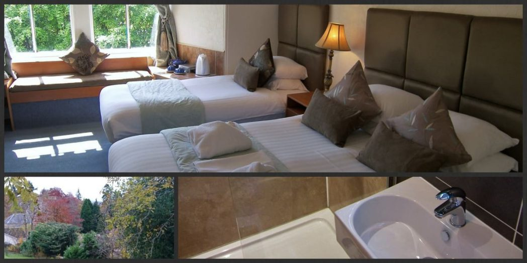 Pet friendly Premium room at Rosemount Hotel Pitlochry