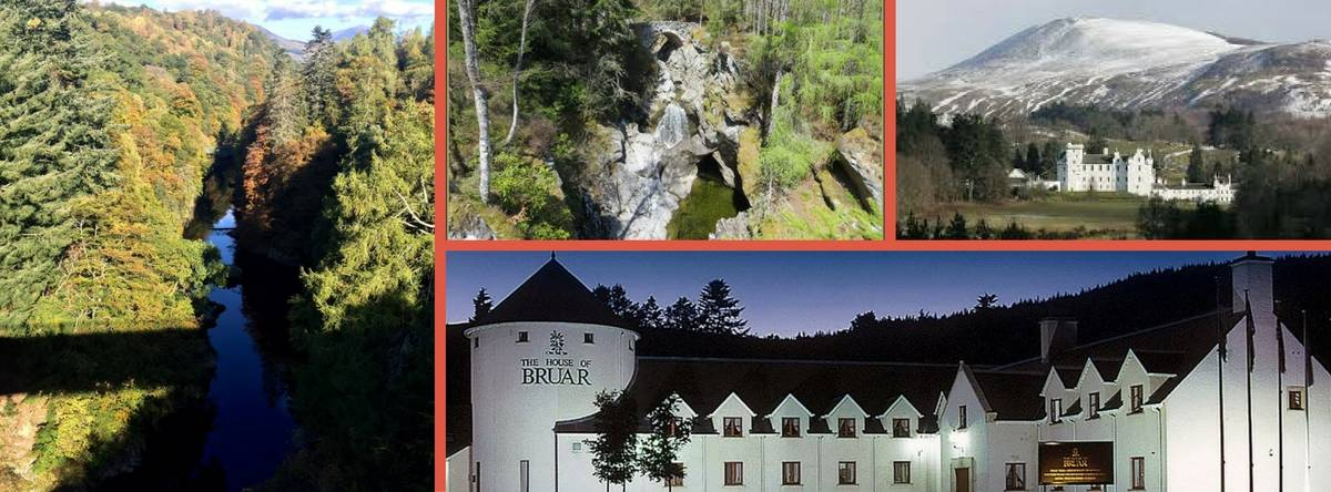 B&B accommodation Pitlochry Killiecrankie Blair Atholl and Bruar