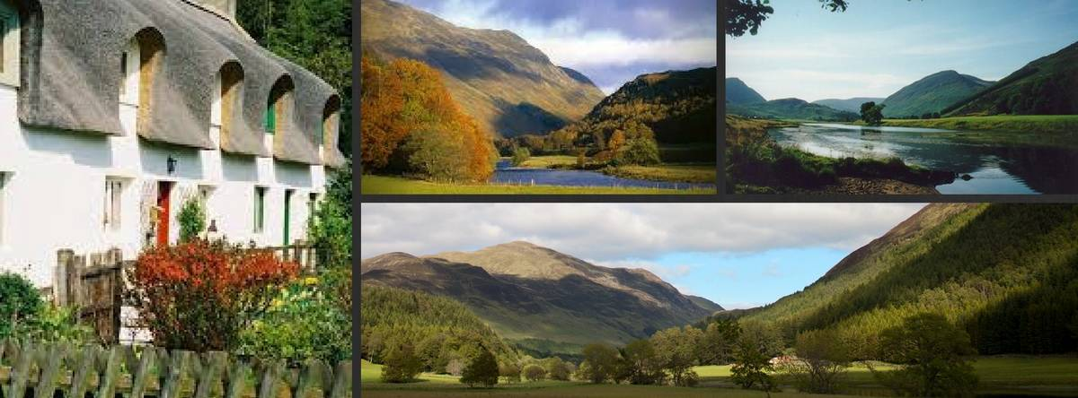 Scotland holidays. Tour Glen Lyon from Pitlochry
