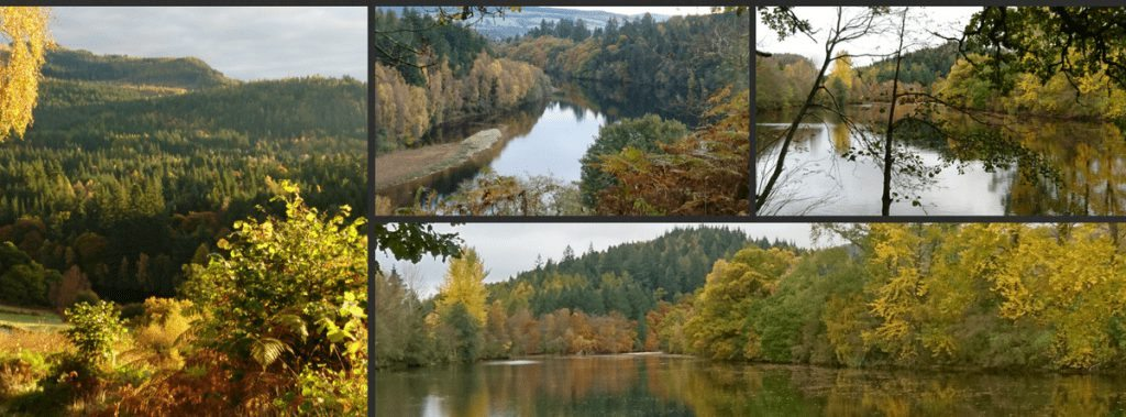 autumn breaks Pitlochry Perthshire