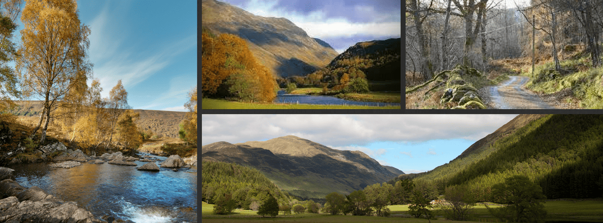 hotels pitlochry area