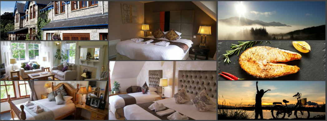 places to stay in Pitlochry. Family rooms