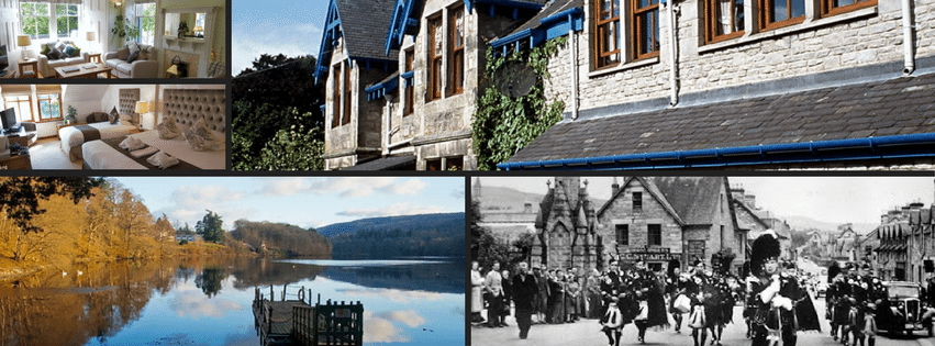 Hotel holiday in Scotland, Pitlochry