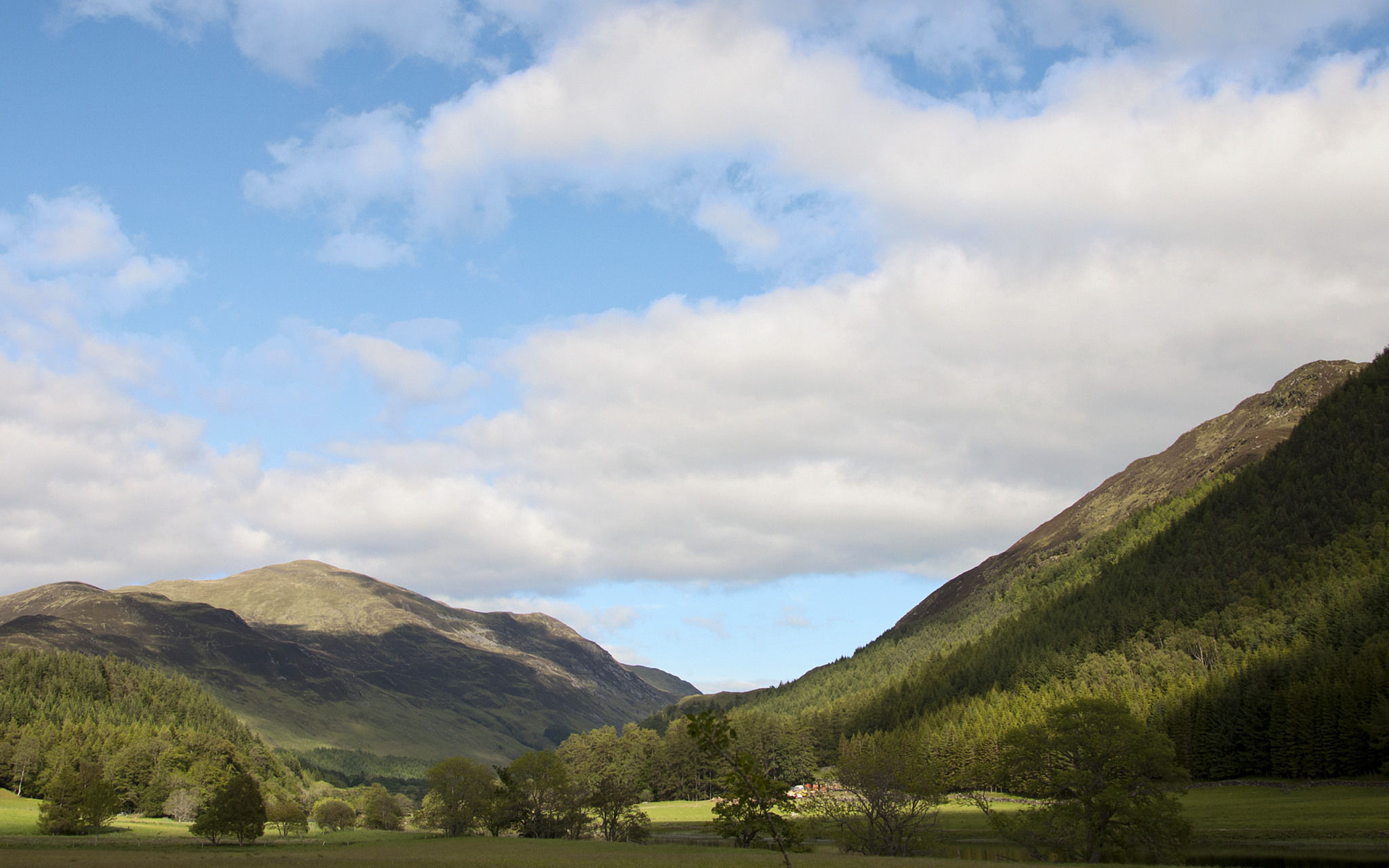 bargain weekend breaks scotland. Pitlochry to Glen Lyon