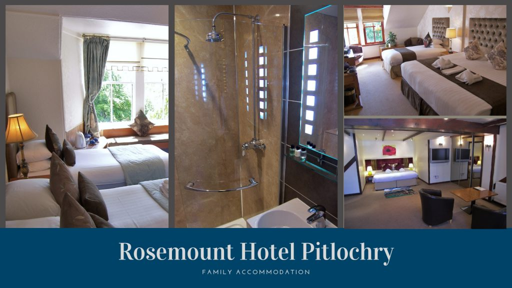 Family Rooms at Rosemount Hotel Pitlochry