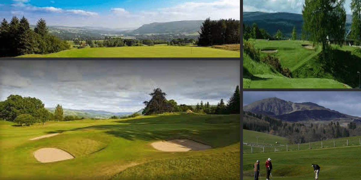 golf in Pitlochry Perthshire