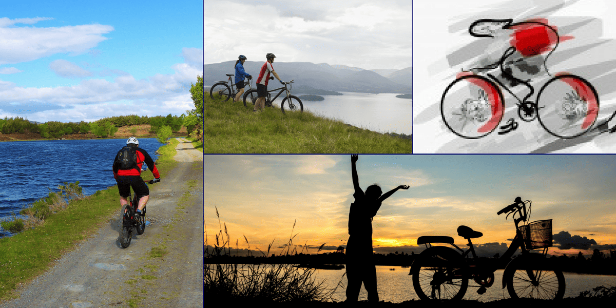 getaway cycling breaks in Pitlochry