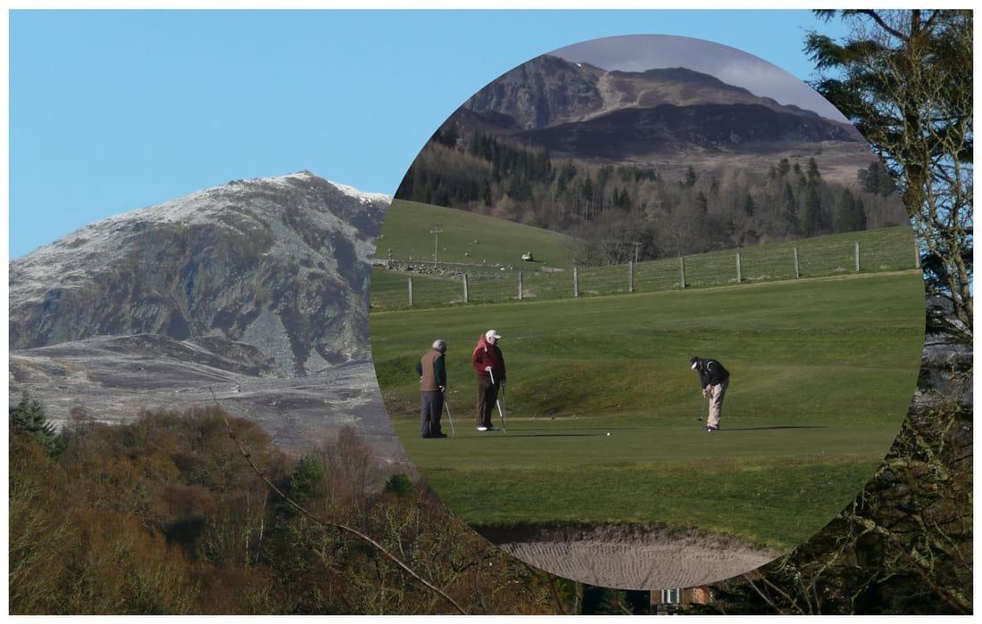 Golf in Pitlochry