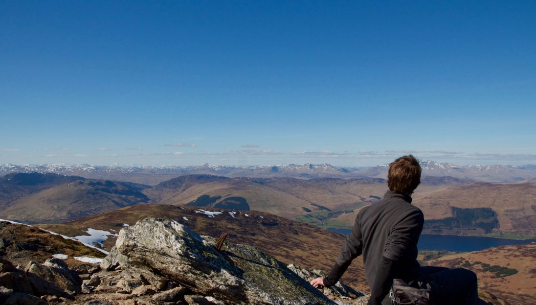 hillwalking in Pitlochry Perthshire