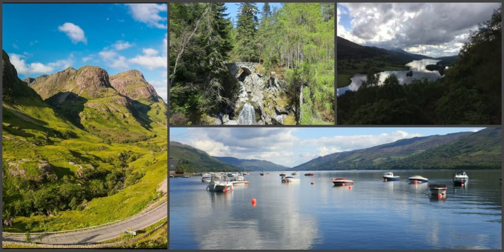 Places to visit from Pitlochry