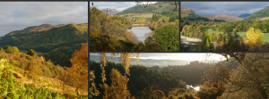 Autumn photography in Pitlochry