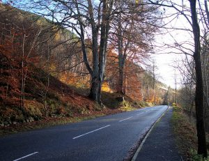 Pass of Killiecrankie pitlochry autumn photography