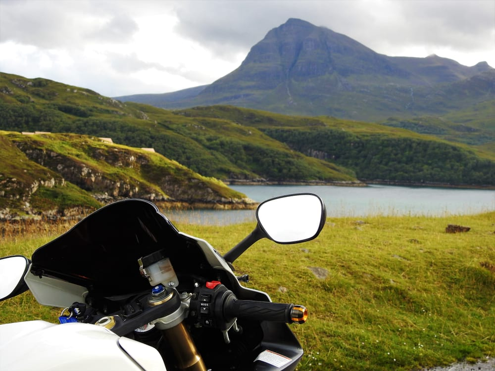 motorcycle friendly hotel Pitlochry