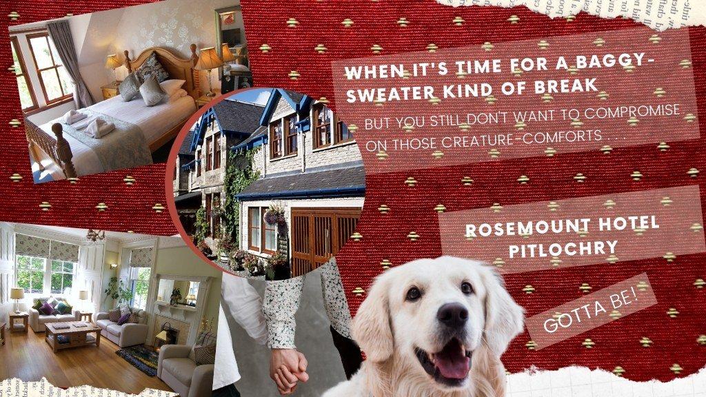 Pitlochry dog friendly accommodation
