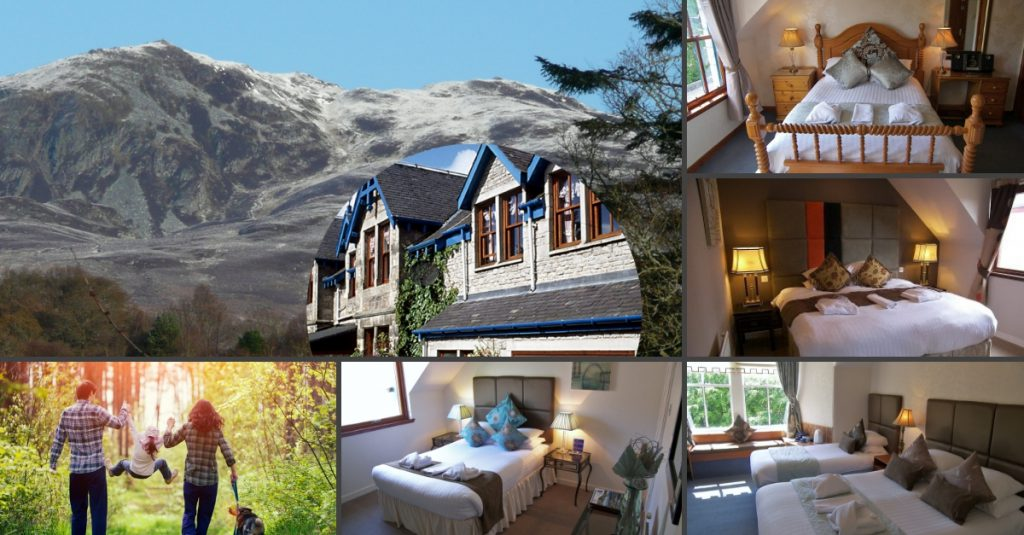 accommodation Pitlochry Perthshire