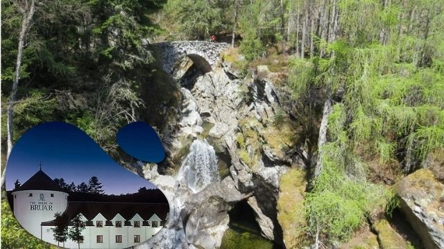House and Falls of Bruar