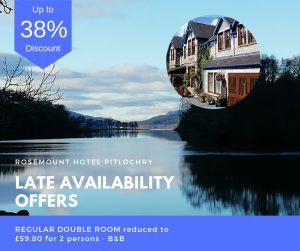 late availability offers pitlochry