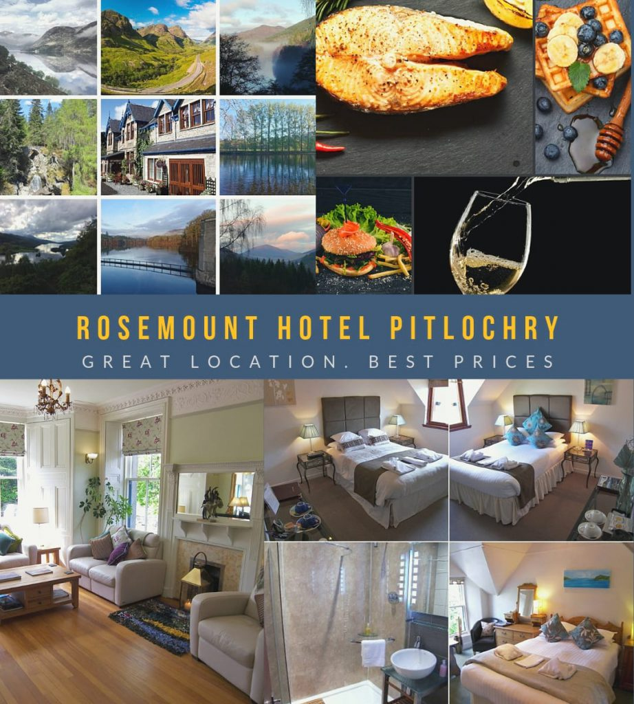 Rosemount Hotel Pitlochry - a small, scottish hotel