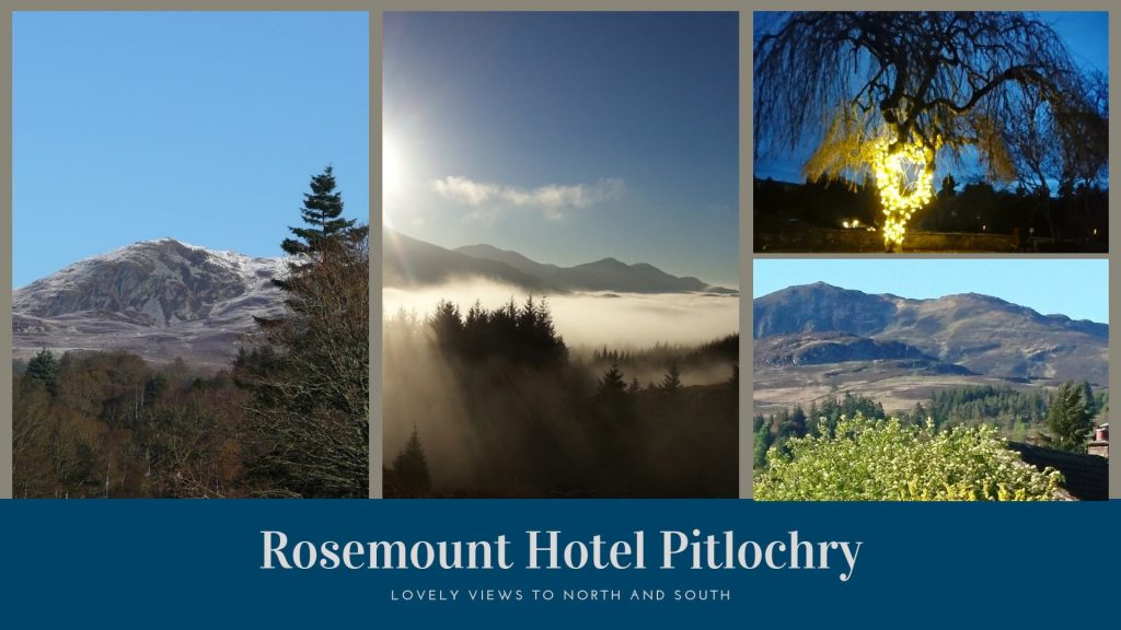 Rosemount Hotel Pitlochry views