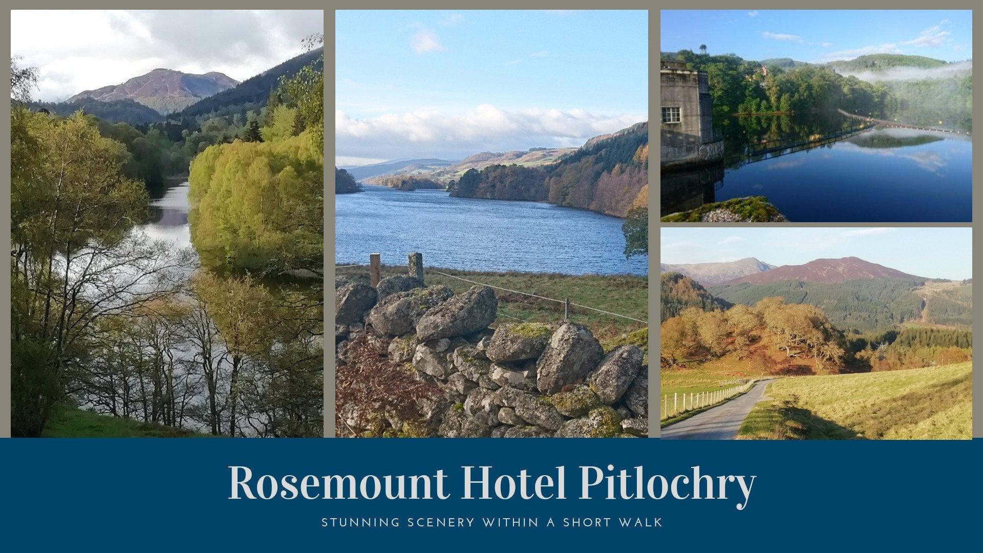 Rosemount Hotel Pitlochry - scenery nearby