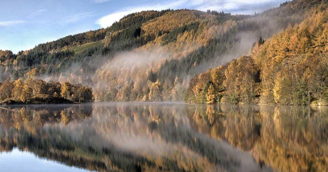 Loch Faskally from Foss Road