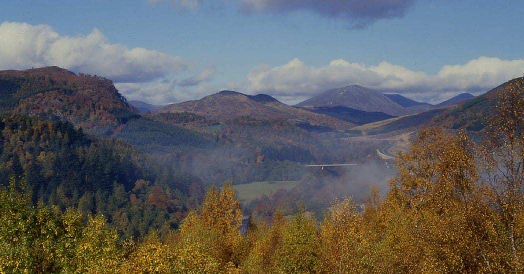 Pass of Killiecrankie near Pitlochry